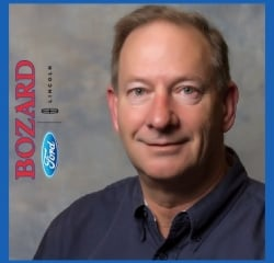 Vehicle Guide David Siekierski in Sales at Bozard Ford Lincoln