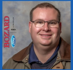 Service Manager John Douglass in Service at Bozard Ford Lincoln