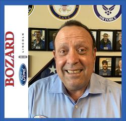 Lincoln Sales Manager David Camposano in Sales at Bozard Ford Lincoln