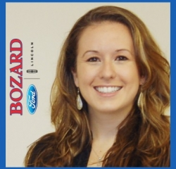 Title Clerk Megan Press in Administrative at Bozard Lincoln