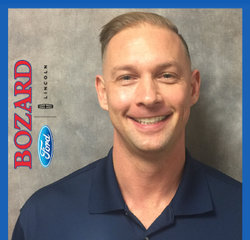 Vehicle Guide Ryan Hurewitz in Sales at Bozard Ford Lincoln