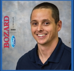 "Accessories Associate Philip ""PJ"" Sanders in Parts at Bozard Ford Lincoln"