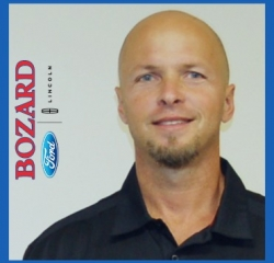 Recondition & Inventory Trent Anderson in Pre-Owned Vehicle at Bozard Ford Lincoln