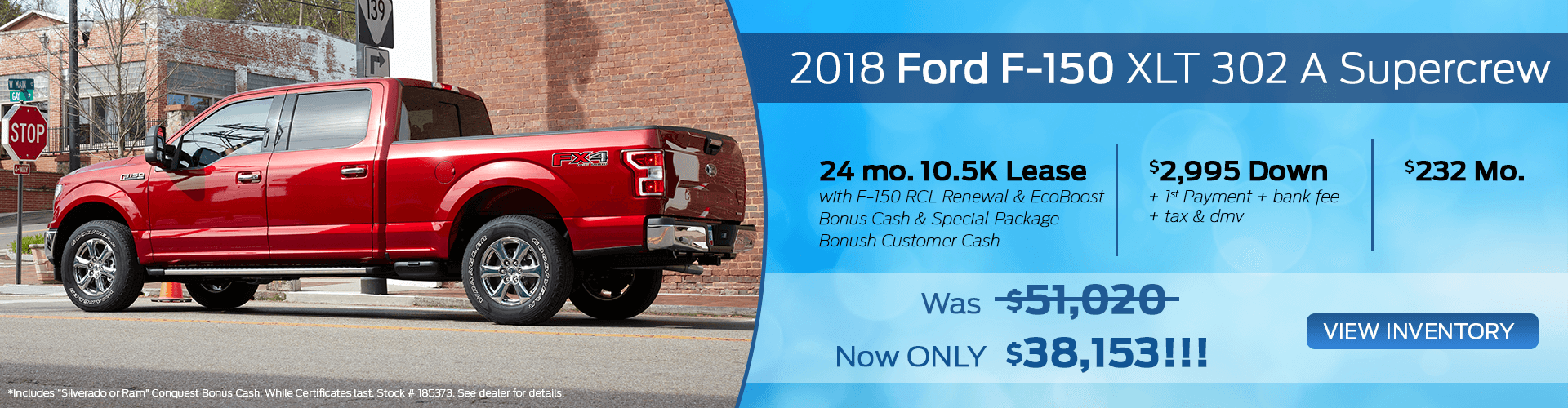 2018 Ford F-105 XLT 302 A Supercrew For Sale On Long Island NY