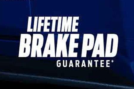 Coupon for Lifetime Brake Pad Guarantee Motorcraft®