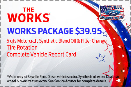 ford service card promotions
