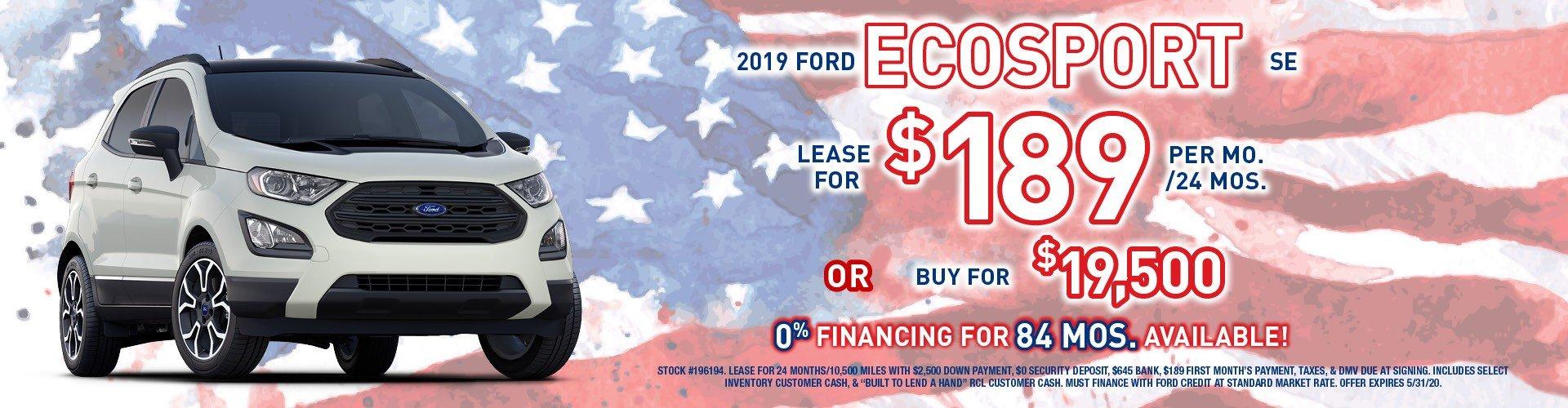 ecosport banner