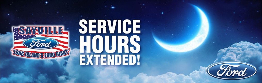 night service now offered by sayville ford
