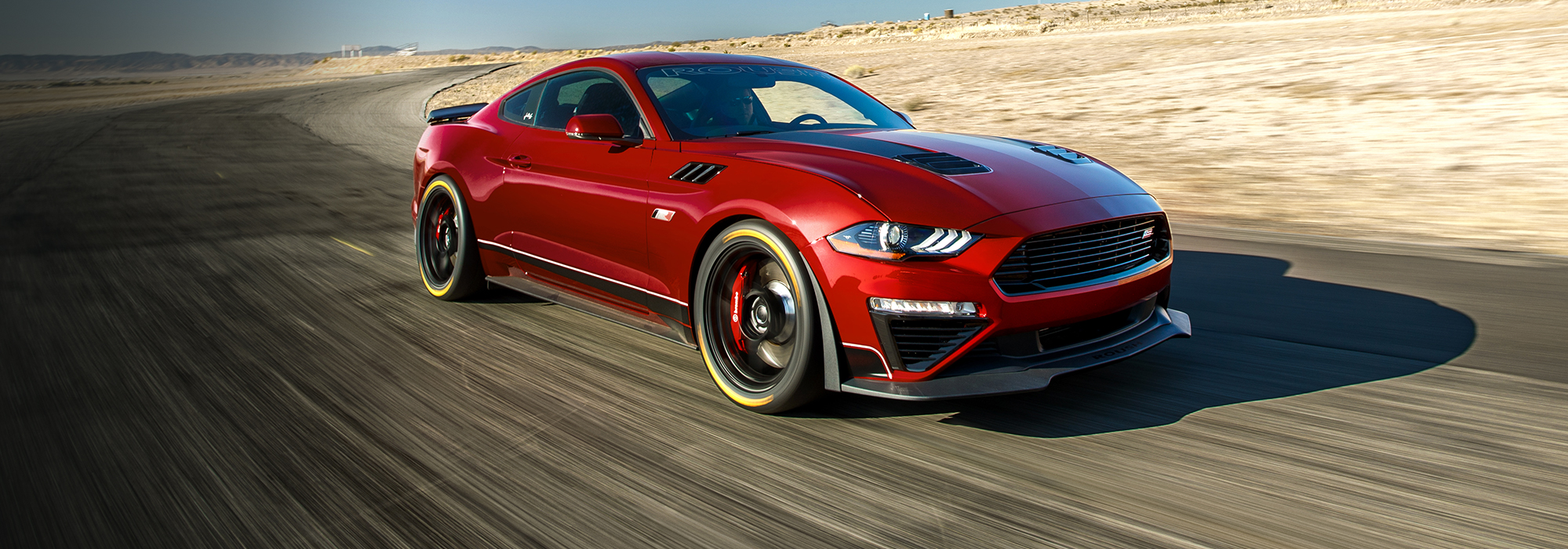 2020 red ford ROUSH jack roush mustang