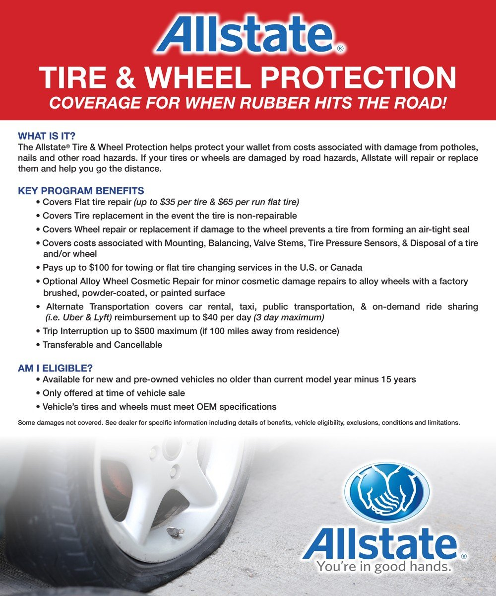 allstate tire and wheel protection