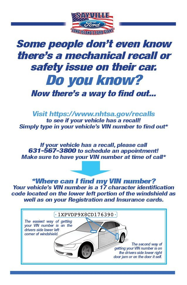 learn about recalls