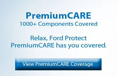 Ford premiumCARE protection plan banner