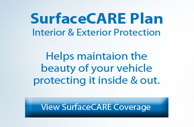 Ford SurfaceCARE protection plan banner