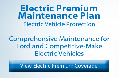 Ford electric premium maintenance protection plan banner