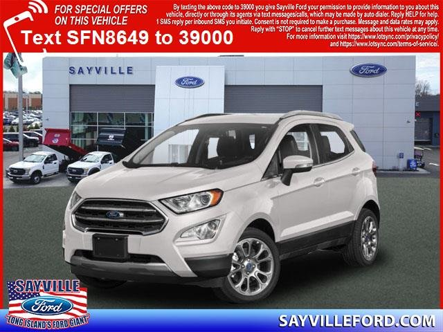 Lease this 2019, White, Ford, EcoSport, SE