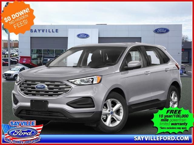 Lease this 2020, Silver, Ford, Edge, SE