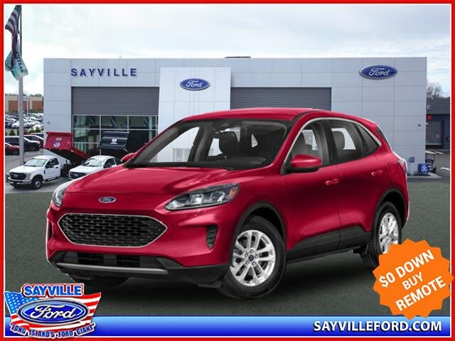 Lease this 2020, Red, Ford, Escape, SE