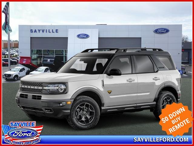 Lease this 2021, White, Ford, Bronco Sport, Base