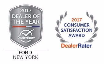 2017 ford dealer of the year award from DealerRater