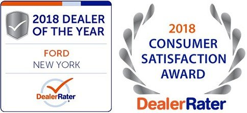 2018 ford dealer of the year award from DealerRater