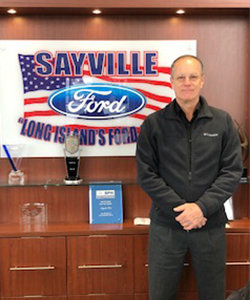 Sales Consultant John Malinowski in Staff at Sayville Ford