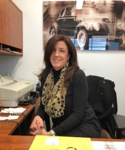 Finance Manager Rose St. Pierre in Staff at Sayville Ford