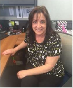 Human Resources Cathy Huber in Staff at Sayville Ford