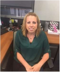 Office Manager Courtney Mosel in Staff at Sayville Ford