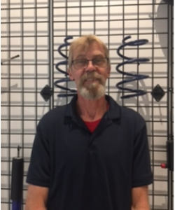 Parts Sales Consultant John Erickson in Staff at Sayville Ford