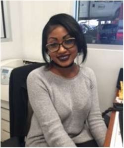 Service Advisor Kenya Augustin in Staff at Sayville Ford