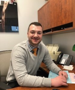 Finance Manager Steven Massaro in Staff at Sayville Ford