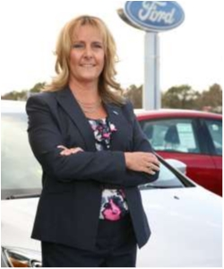 President Melanie Spare-Oswalt in Staff at Sayville Ford