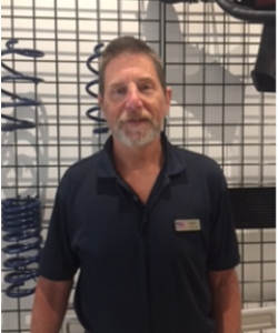 Parts Sales Consultant Steve Kritzler in Staff at Sayville Ford