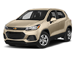 cream color chevy trax suv for sale
