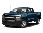 blue chevy silverado 1500 truck
