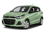 light green chevy spark
