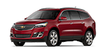 all new red chevy traverse suv features and specs