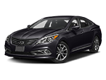 new black hyundai azera at Stivers Hyundai