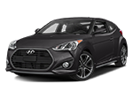 black hyunda veloster turbo