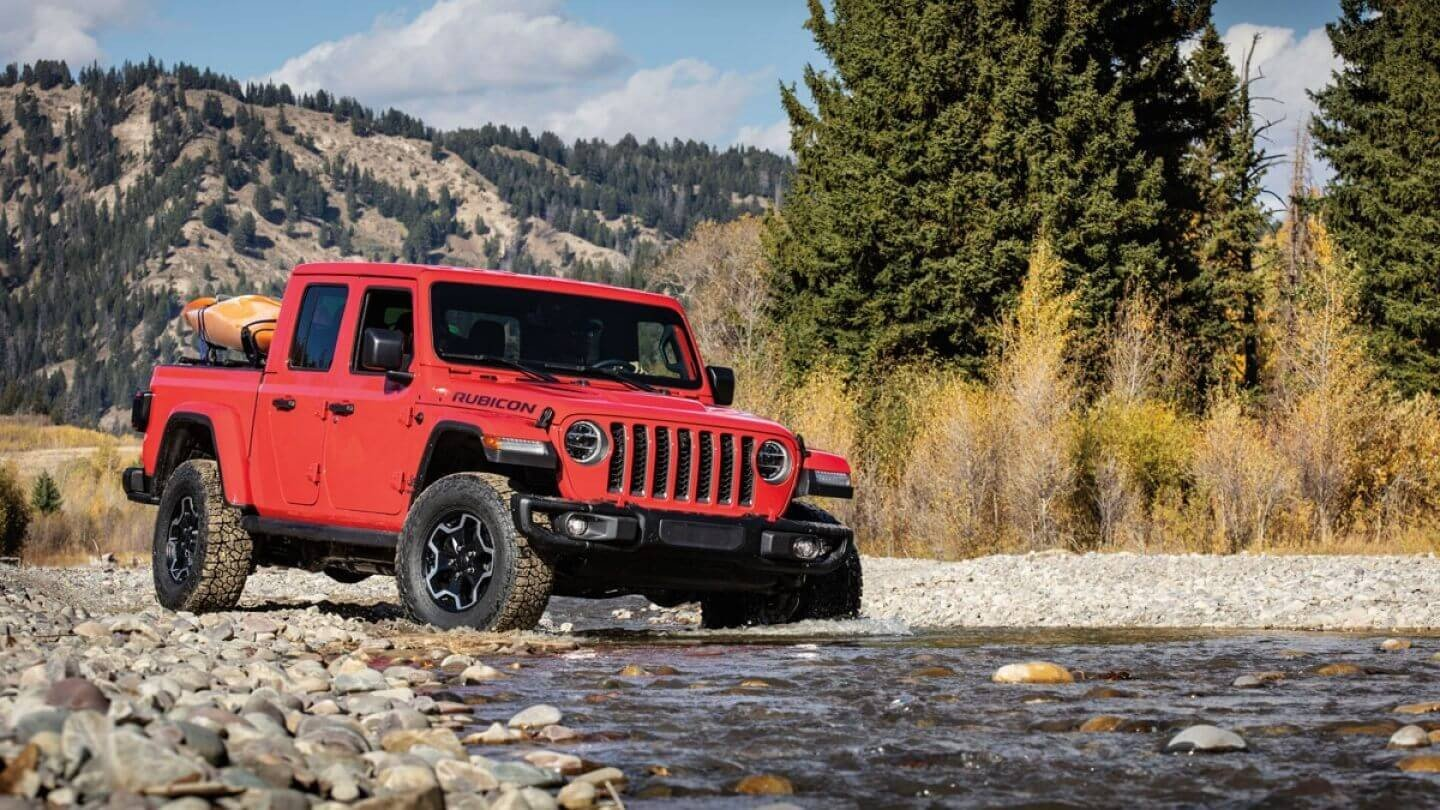 The Trail Rated Jeep Gladiator in Bismarck