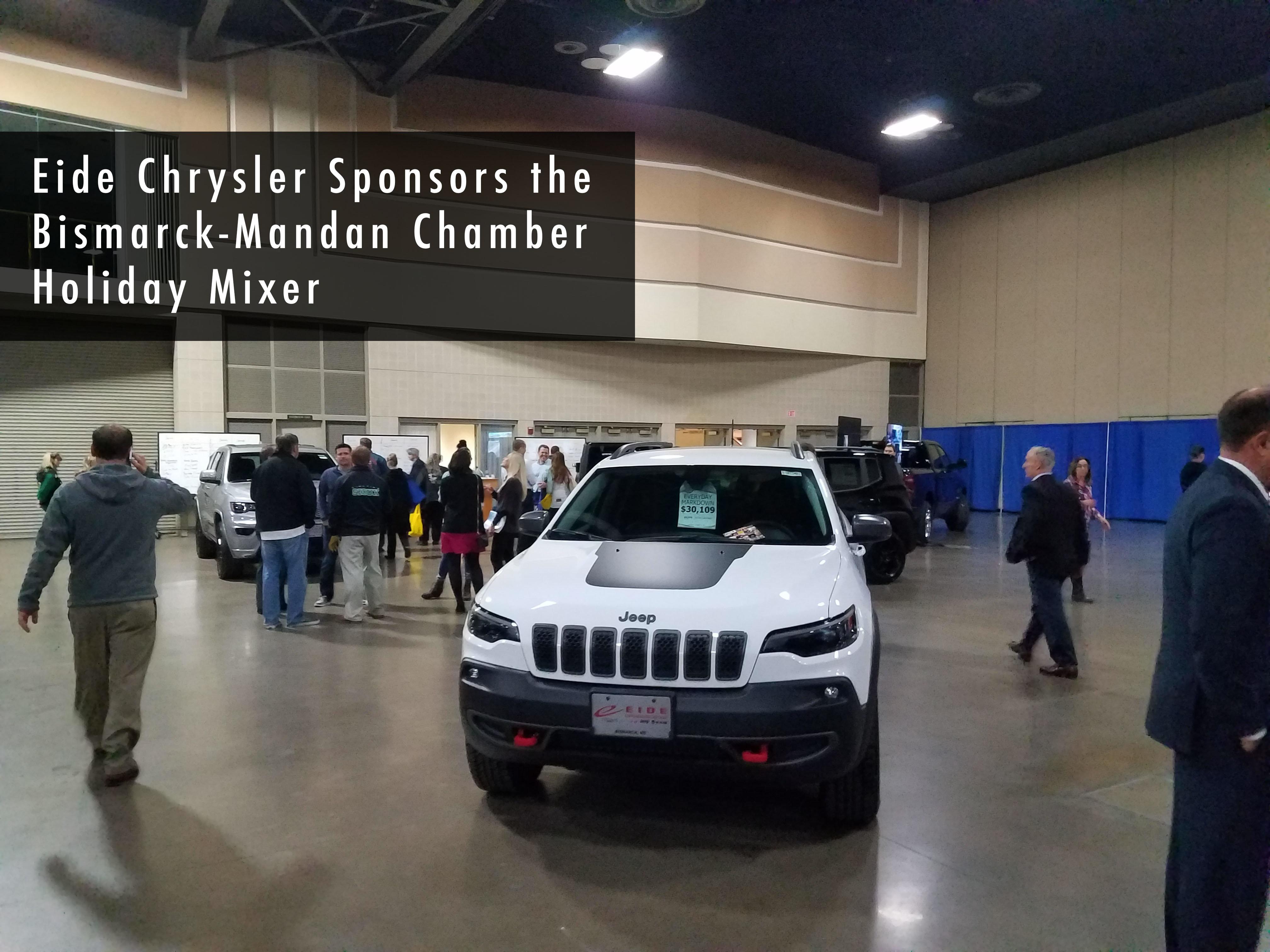 Eide Chrysler sponsors holiday mixer.