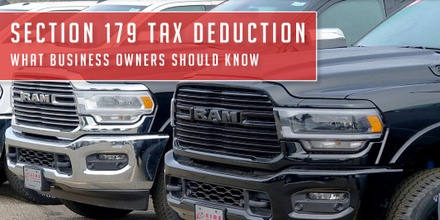 Section 179 Tax Deduction in Bismarck