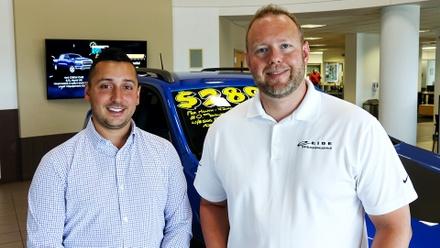 Master Salesmen Dylan Hocking and Chris Klein