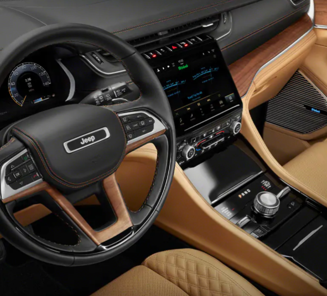 New Jeep Grand Cherokee L interior