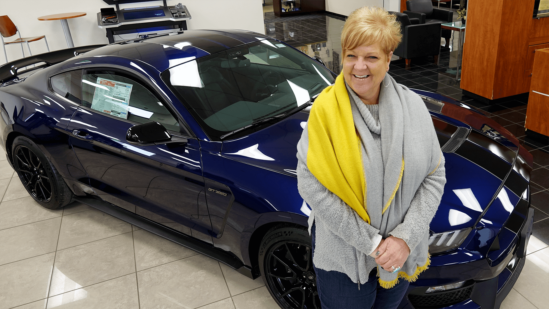 Fran Martin of Eide Chrysler and Eide Ford in Bismarck