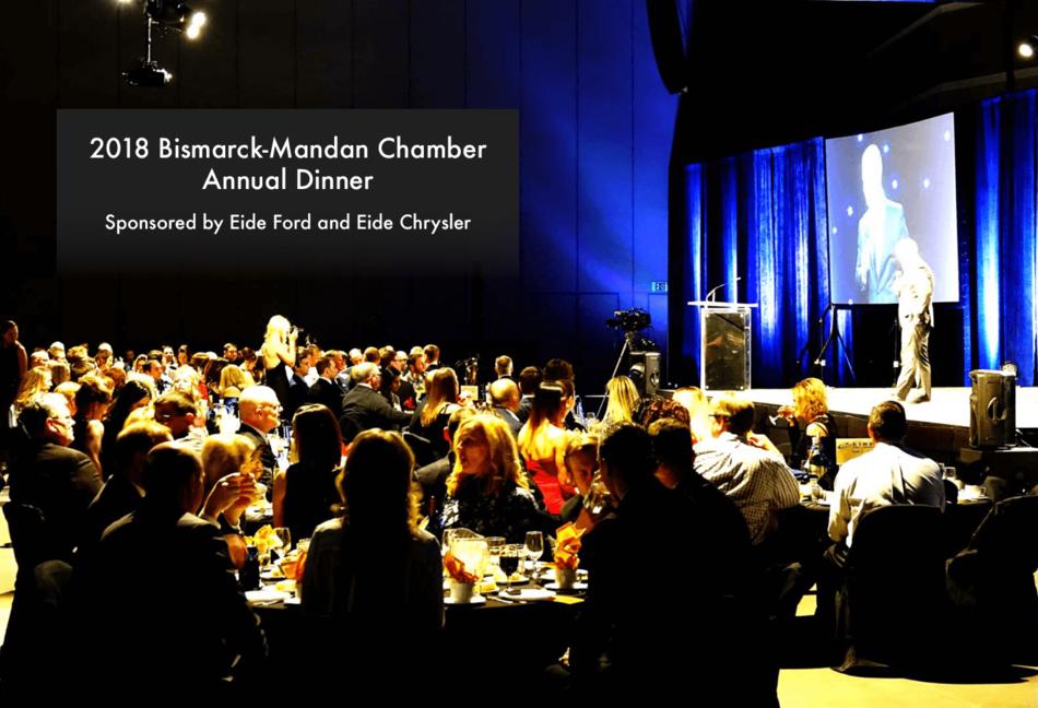 Eide Chrysler and Eide Ford Host the 2018 Bismarck-Mandan Chamber Annual Dinner