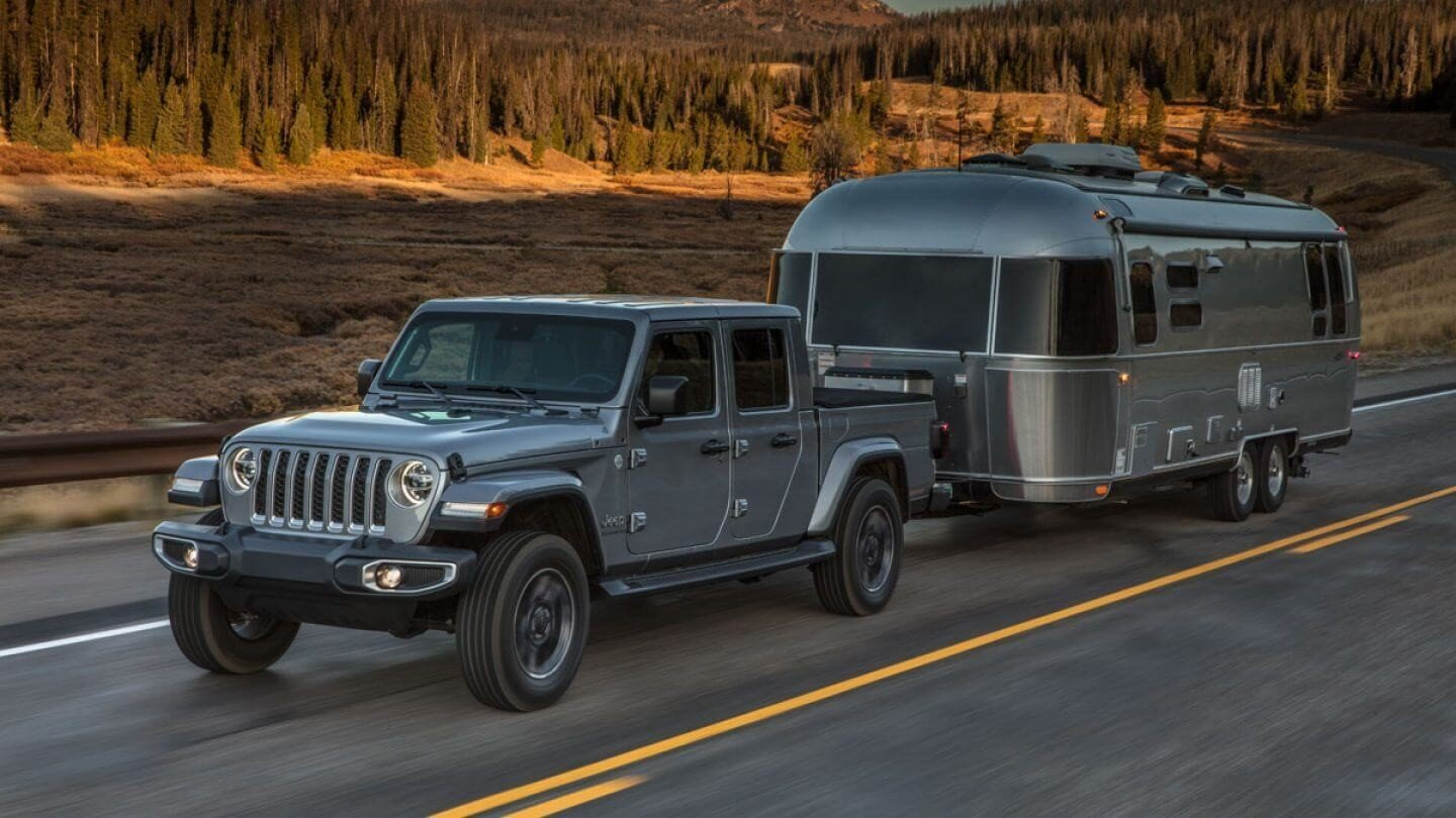 Jeep Gladiator towing capability