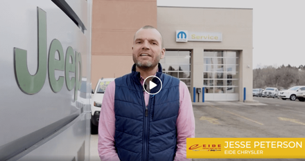 Jesse Peterson of Eide Chrysler COVID-19 Video update