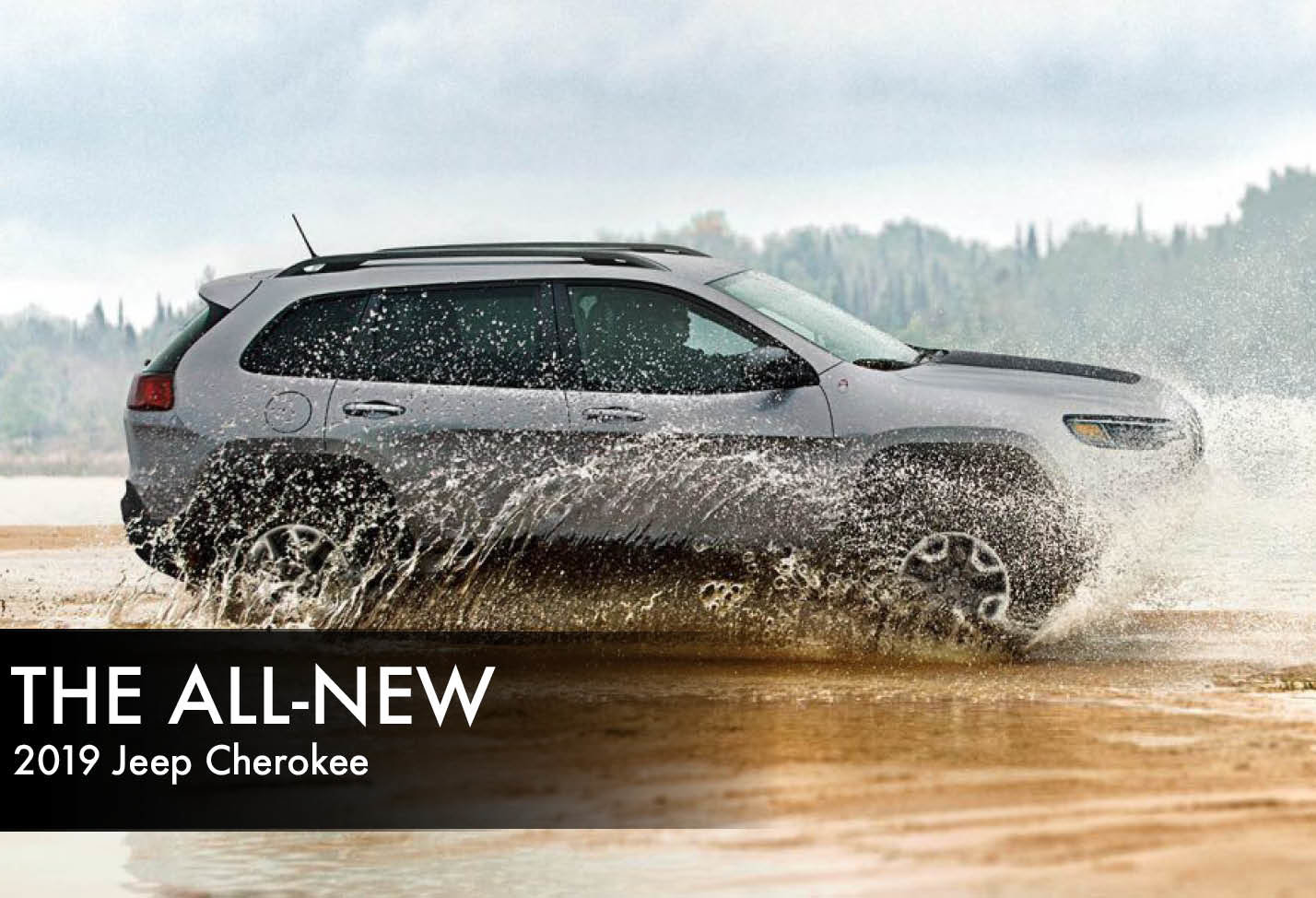 Get to know the all-new 2019 Jeep Cherokee here.