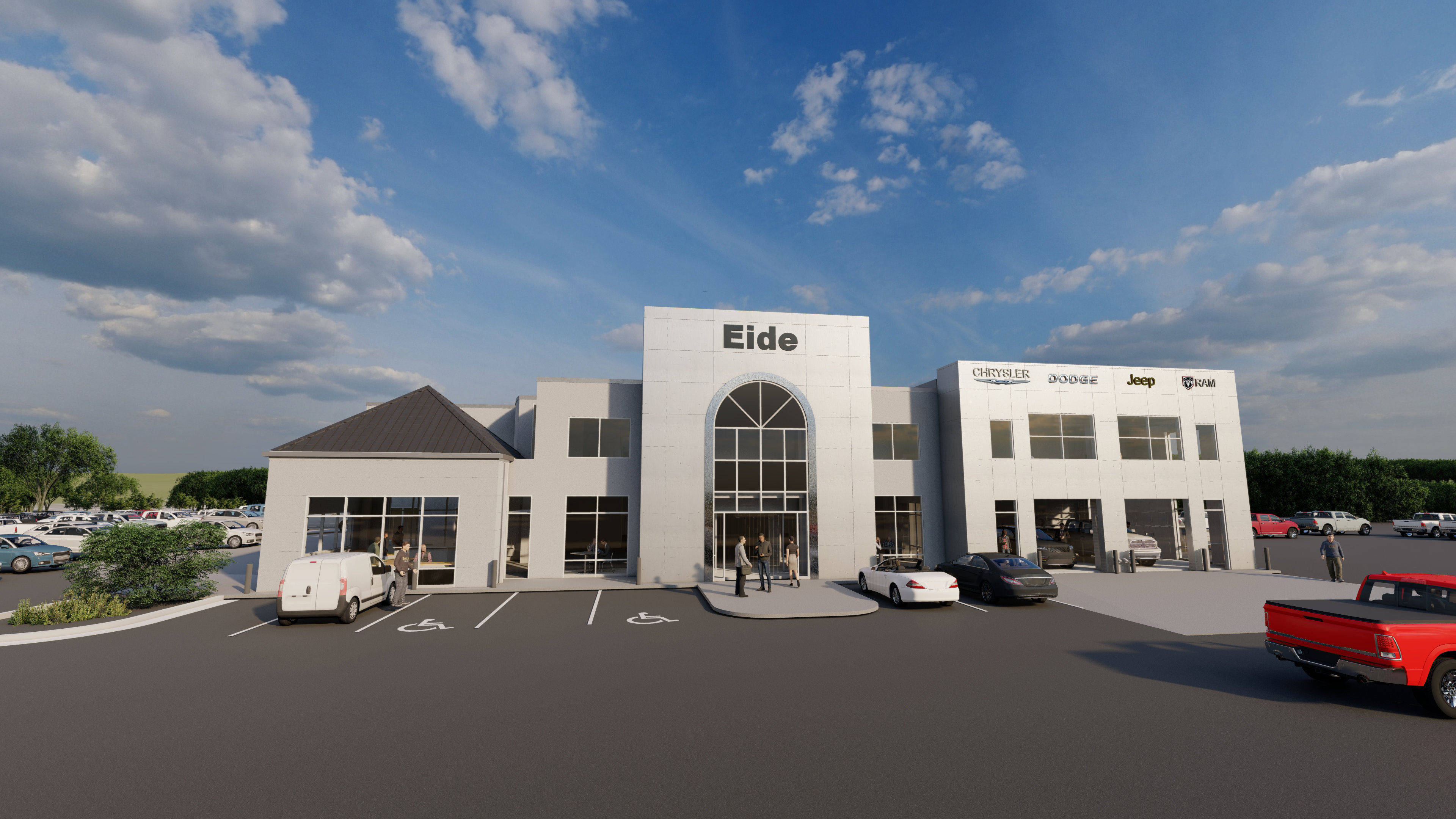 Eide Chrysler is expanding!